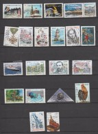 """D20 - 2015 - 20 TIMBRES """"GOMMES"""" OBLITERES DIFFERENTS - France"""