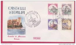 FDC Italia 1980 Serie Castelli Miramare Trieste - F.D.C.