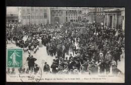 51, GRAND CONCOURS MUSICAL DE REIMS, 14 15 AOUT 1910, PLACE DE L'HOTEL DE VILLE - Reims