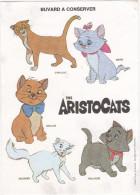 Buvard Walt Disney Productions / THE ARISTOCHATS (Chats) - Löschblätter, Heftumschläge