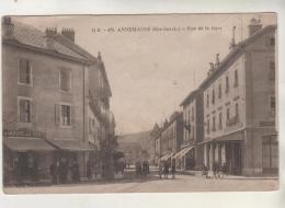 ANNEMASSE - Rue De La Gare - La Nouvelle Poste - Annemasse