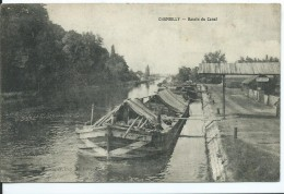 CHAMBILLY - Bassin Du Canal (peniche ) - Otros Municipios