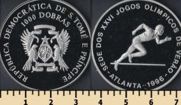 Sao Tome And Principe 1000 Dobras 1993 - Sao Tome Et Principe