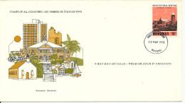 Bahamas FDC 28-3-1978 Architectural Heritage With Cachet - Bahamas (1973-...)