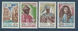 "Dahomey YT 291 à 294 "" Roi D'Ardres à Paris "" 1970 Neuf** - Benin – Dahomey (1960-...)"