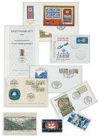 Lindner 881LP Schutzhüllen 155 X 100 Mm - Postzegels
