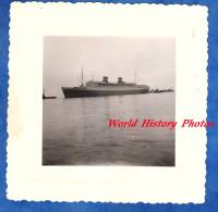 Photo Ancienne - Paquebot à Identifier - Boat Ship Port - Boats