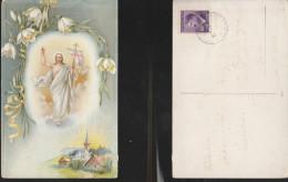 6643) OCCUPAZIONE BOEMIA MORAVIA BOHEMEN UND MAEHREN CECHYA MORAVA VIAGGIATA 1943? OCCUPAZIONE TEDESCA FRANCOBOLLO CON P - Boehmen Und Maehren
