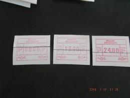 ATM.Jac Papier Crème. Reeks Snijlijn Midden. - Automatenmarken (ATM)