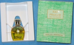 A696  AEAU FRAICHE ROSE & CO. MANCHESTER BOTTIGLINE PROFUMO MINIATURE DE PARFUM BOTTLES PERFUME MINIATURES MEN´S FEMMES - Miniatures Womens' Fragrances (in Box)