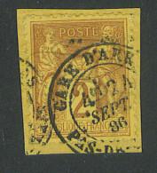 "VEND BEAU TIMBRE DE FRANCE N°85IIB , CACHET ""GARE D´ARRAS"" !!!! - 1876-1898 Sage (Type II)"