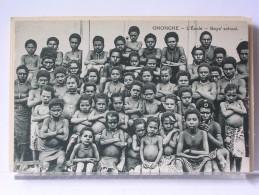 PAPOUASIE - ONONGHE - L'ECOLE - Papouasie-Nouvelle-Guinée