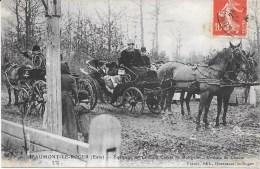 27 - BEAUMONT-LE-ROGER - Equipage Du Comte De Boisgelin - Voiture De Chasse - Circulé - T.B.E. - Caza