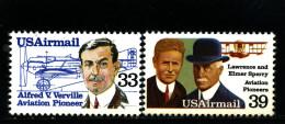 UNITED STATES/USA - 1985  AVIATION PIONEERS  SET  MINT NH - Stati Uniti