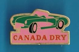 PIN´S //  ** CHEVROLET ** CORVETTE CONVERTIBLE ** ROSE ** CANADA DRY ** - Corvette