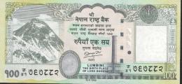 NEPAL  P73  100  RUPEES   Dated 2012  Signature 16   UNC. - Nepal