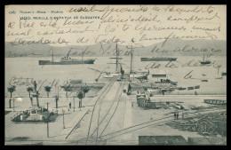 ESPANHA - VIGO -  Muelle Y Estatua Eduayen  ( Ed. Hauser Y Menet Nº 1583) Carte Postale - Pontevedra
