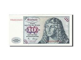 République Fédérale Allemande, 10 Deutsche Mark, 1970-1980, KM:31c, 1980-0... - [ 7] 1949-… : FRG - Fed. Rep. Of Germany