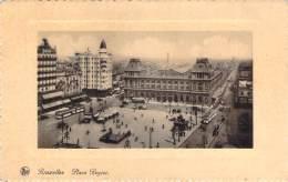 Belgique - Bruxelles - Place Rogier - Squares