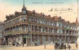 Belgique - Middelkerke - Grand Hôtel De La Digue (colorisée) - Middelkerke