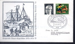 ALLEMAGNE   FDC  1972  Bielefeld 2 Bateaux Ours Polaire - Events & Gedenkfeiern