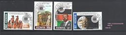 Kenya  1983 Commonwealth Day   256/259 4v Used - Kenya (1963-...)