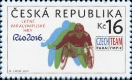 ** 892 Czech Republic Paralympic Games Rio De Janeiro  2016 - Eté 2016: Rio De Janeiro