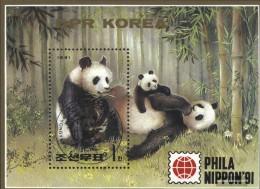 North-Korea Block261 (complete Issue) Fine Used / Cancelled 1991 PHILANIPPON `91 - Korea, North