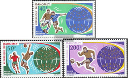 Dahomey 414-416 (complete Issue) Unmounted Mint / Never Hinged 1970 Football-WM '70, Mexico - Benin - Dahomey (1960-...)