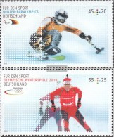 FRD (FR.Germany) 2781-2782 (complete.issue.) Fine Used / Cancelled  2010 Olympics Winter Games 2010 - [7] Federal Republic