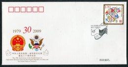 2009 China USA Diplomatic Relations Cover - 1949 - ... République Populaire