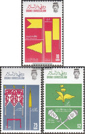 Brunei 343-345 (complete Issue) Unmounted Mint / Never Hinged 1986 Royal Insignia - Brunei (1984-...)