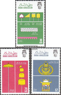 Brunei 346-348 (complete Issue) Unmounted Mint / Never Hinged 1986 Royal Insignia - Brunei (1984-...)