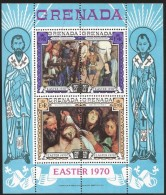 O) 1970 GRENADA, PAINTING RUBENS-EASTER, SOUVENIR MNH - Grenada (1974-...)