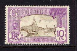 GUADELOUPE - 121* - PORT DE POINTE A PITRE - Guadeloupe (1884-1947)