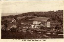 63  MAYRES - Le Procureur -  La Gare Et Route De La Chaise-Dieu à Arlanc - France
