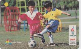 MALAYSIA Magnetic Uniphone $5 Kodak Atlanta 1996 Soccer Sport Used - Malaysia