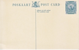 POSTAL  CARD  SUID  AFRIKA   ** - South Africa (...-1961)