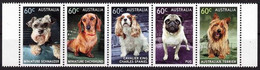 Australia 2013  Dogs Hunde Pets 5v    MNH** - 2010-... Elizabeth II