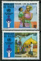 NIGER 1988 40TH ANNIV. OF WHO MNH M02545 - Niger (1960-...)