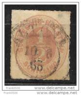 German State 1865, Schleswig-Holstein, 1/2s, Used - Schleswig-Holstein