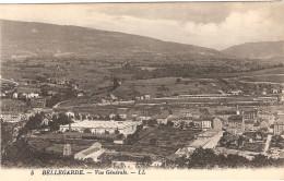 CPA Bellegarde Vue Générale 01 Ain - Bellegarde-sur-Valserine