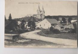 BOUJAILLES - Le Village - Vue Sur L'église - Autres Communes