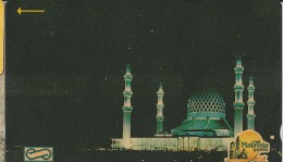 MALAYSIA  $10 1990 Visit Malaysia Year Mosque Islamic Magnetic Uniphone Used - Malaysia