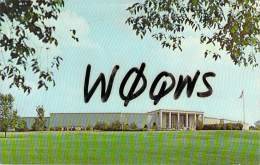 Amateur Radio QSL - W0QWS - Independence, MO -USA- 1967 - 2 Scans (Harry S. Truman Library) - Radio Amateur