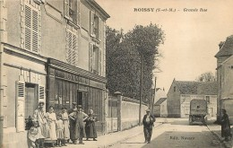 ROISSY EN BRIE GRANDE RUE  UNION COMMERCIALE EDIT NAVARO - Roissy En Brie