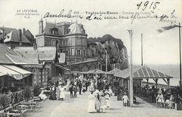 Le Littoral (Seine-Inférieure) - Veules-les-Roses - Terrasse Du Casino - Carte N°864 Non écrite Au Verso - Veules Les Roses