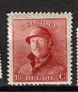 168A  **  2.5 - 1919-1920 Roi Casqué