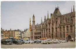 Brugge: MERCEDES 220 W187, BUICK SUPER´54, CITROËN 2CV AZU, FORD ZEPHYR & CONSUL, VW 1200 KÄFER/COX - Grote Markt - (B) - Turismo