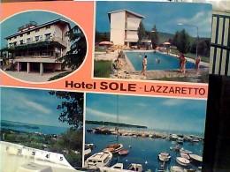 MUGIA  VEDUTE HOTEL SOLE  LAZZARETTO  PISCINA   N1975 FN3937 - Trieste